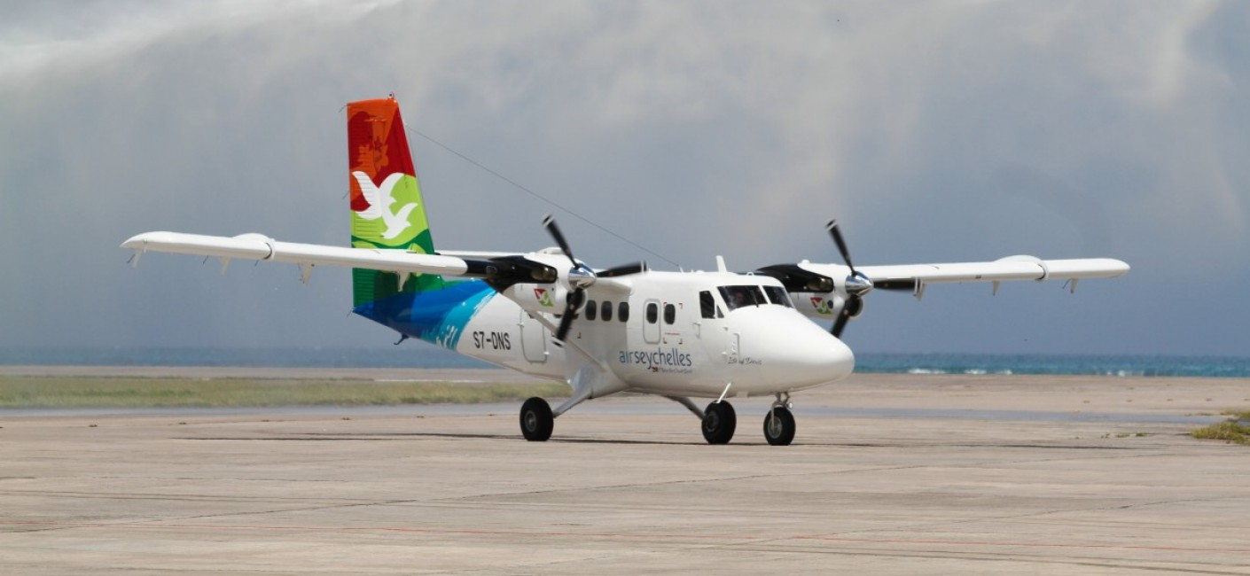 Air Seychelles Tubo Prop Twin Otter Schedule